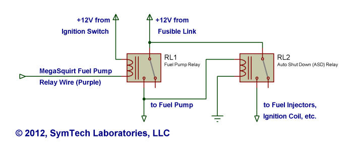 Addition Fuel Pump Wiring Diagram On Mustang Fuel Pump Wiring Diagram